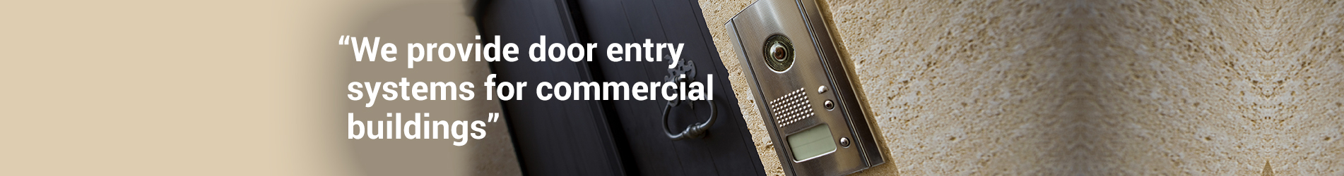 Door Entry Systems Clevedon